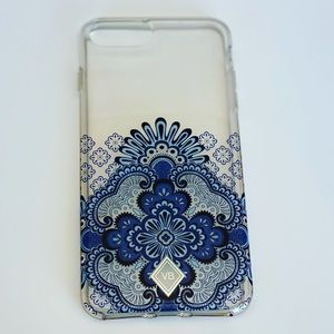 Vera Bradley Blue Tapestry Phone Case